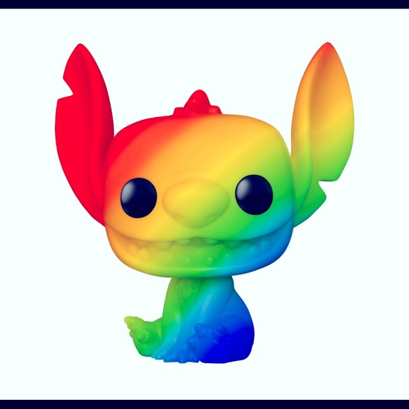 Funko Pop Limited Pride Rainbow Stitch